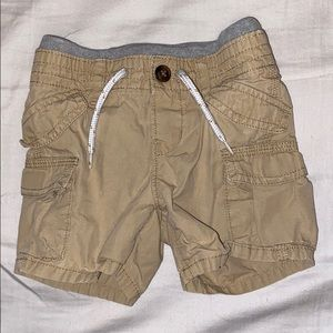 Khaki Baby GAP shorts